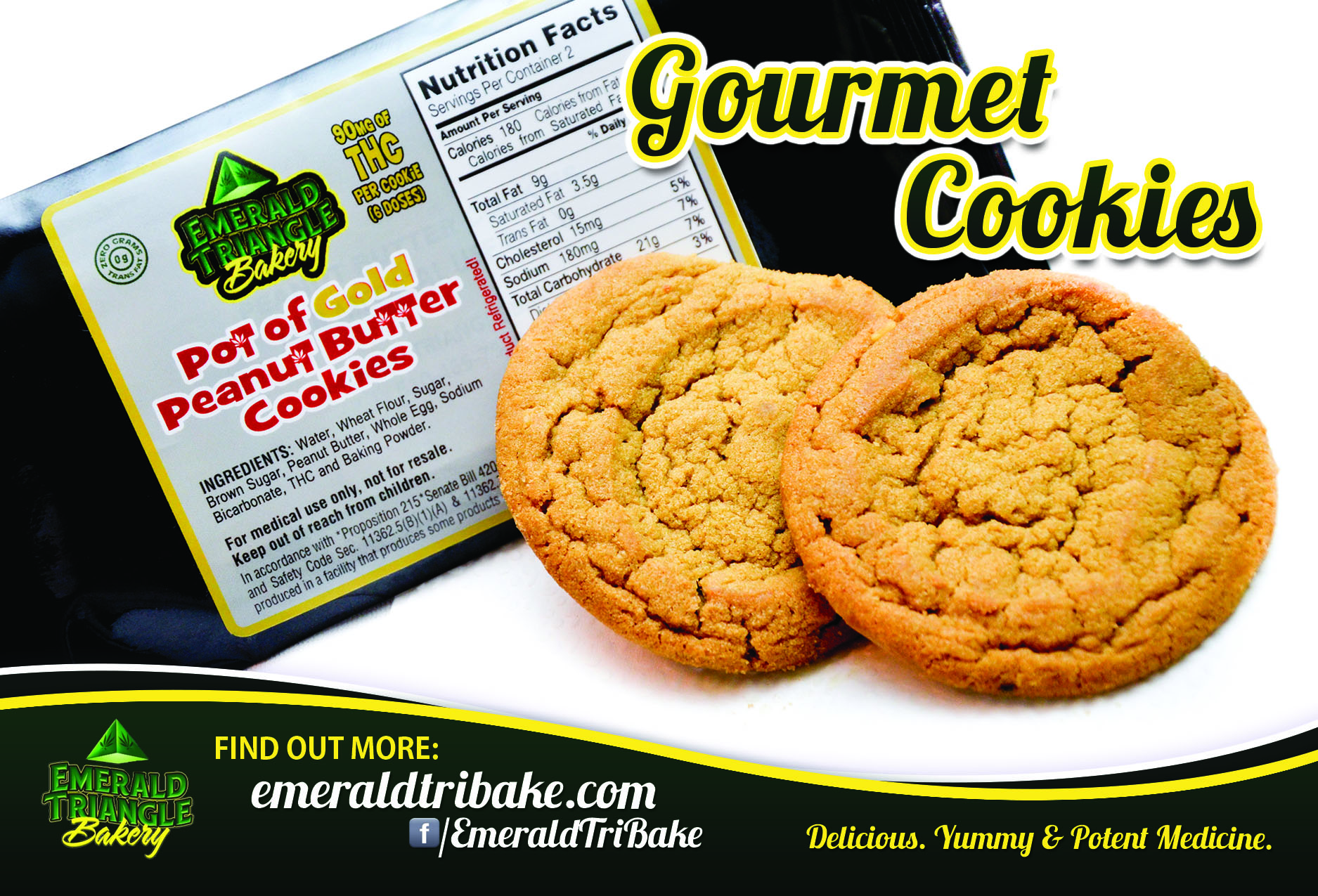 flyers and marketing archives nicely done sites emerald triangle bakery flyers
